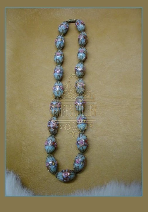 Antique Venetian Fancy Wedding Cake Antique bead necklace